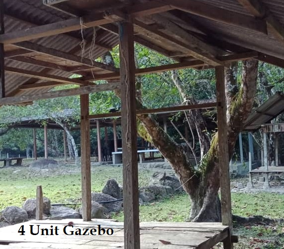 Gazebo tapak perkhemahan KemSriPilah